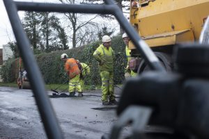 More Road Repairs – please do not park