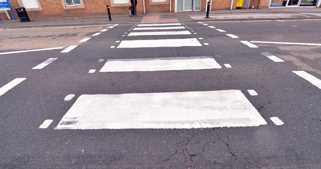 Zebra crossing approved!